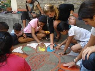 teaching english abroad summer children